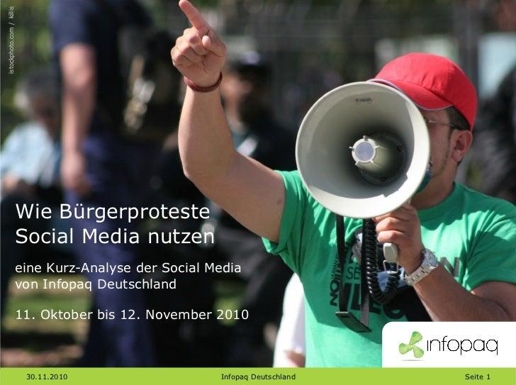 Infopaq Social Media Analyse Protestbewegungen