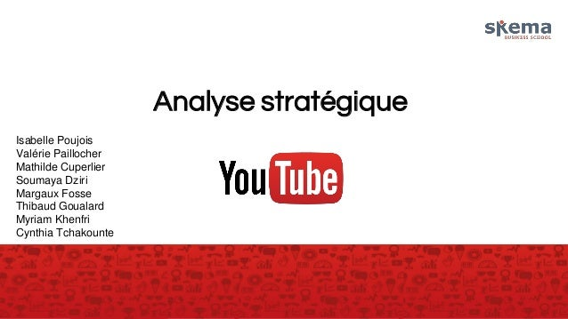 Analyse stratégique Isabelle Poujois Valérie Paillocher Mathilde Cuperlier Soumaya Dziri Margaux Fosse Thibaud Goualard My...