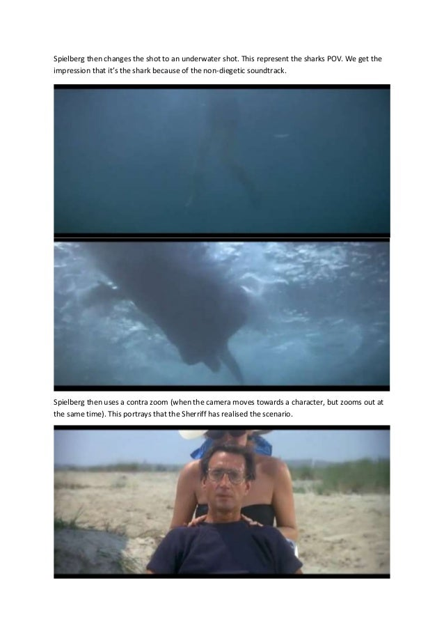 movie analysis jaws Happy birthday to the movie that cleared the way for summer blockbusters while clearing people away from beaches on june 20, 1975, jaws was released on.