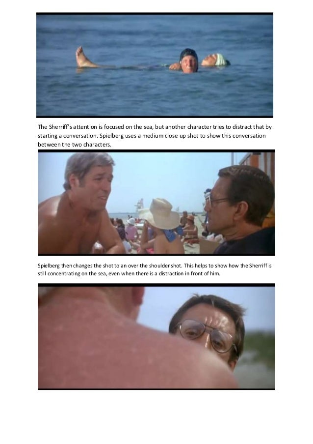 analysis of jaws Rhetorical analysis of jaws essaysjaws is horror film based on the beaches of a small island town called amity within the waters of these beaches lies a killer shark.