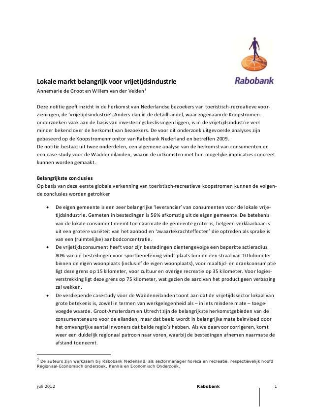Lokalemarktbelangrijkvoorvrijetijdsindustrie                              Annemar...