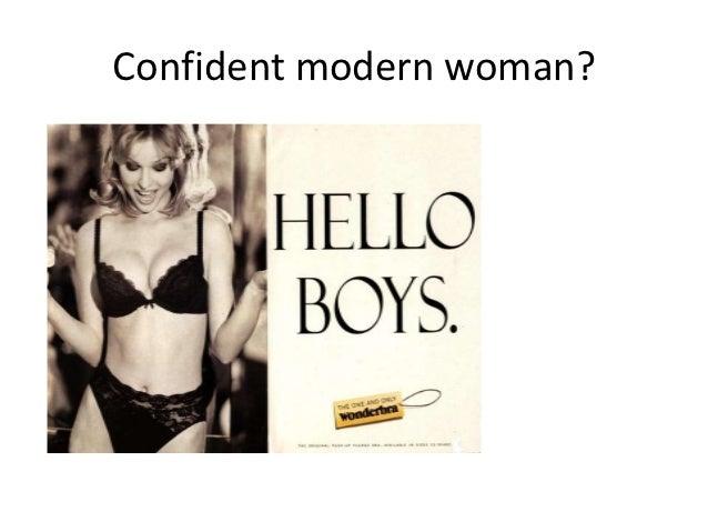 Confident modern woman?