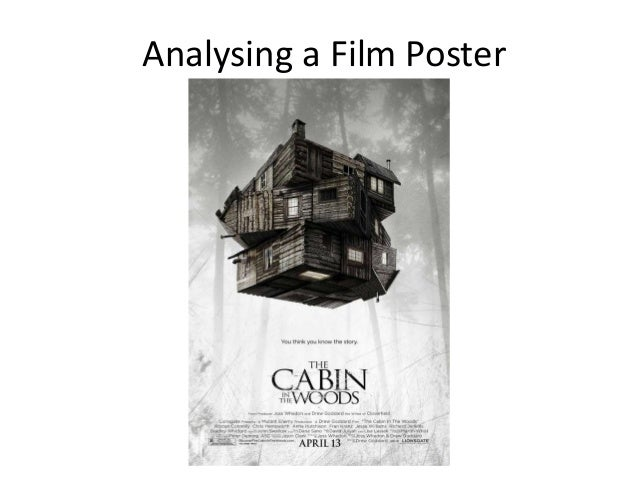Analysing a Film Poster