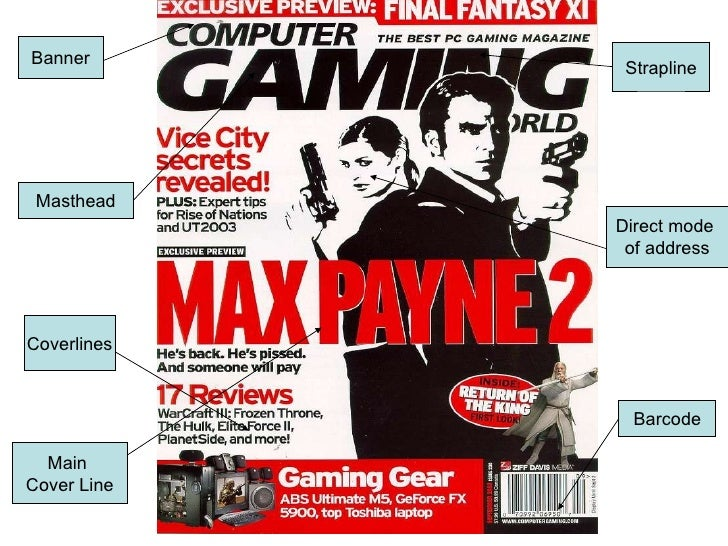 an analysis of the magazines and the magazine covers