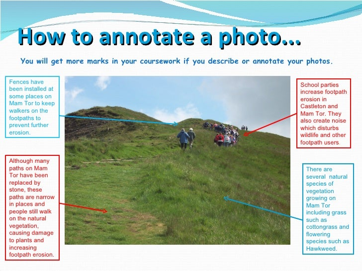 castleton coursework geography