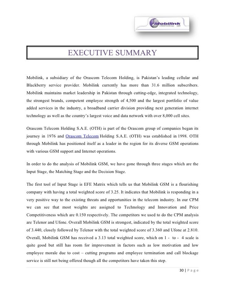 swot analysis for orascom telecom holding Pakistan telecoms business environment swot analysis  orascom-owned  mobilink remains market leader with a 41% market share, as it continues to invest  in its network, offer attractive  hold off the attentions of telenor indeed, ufone.