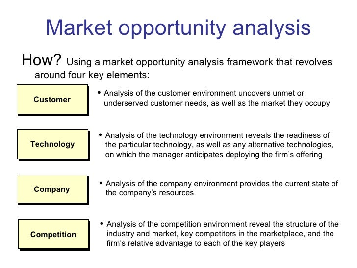 market opportunity analysis template