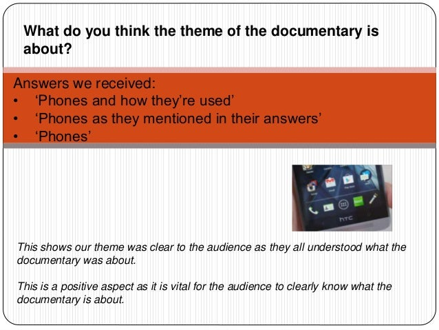 Answers we received: • 'Phones and how they're used' • 'Phones as they mentioned in their answers' • 'Phones' This shows o...