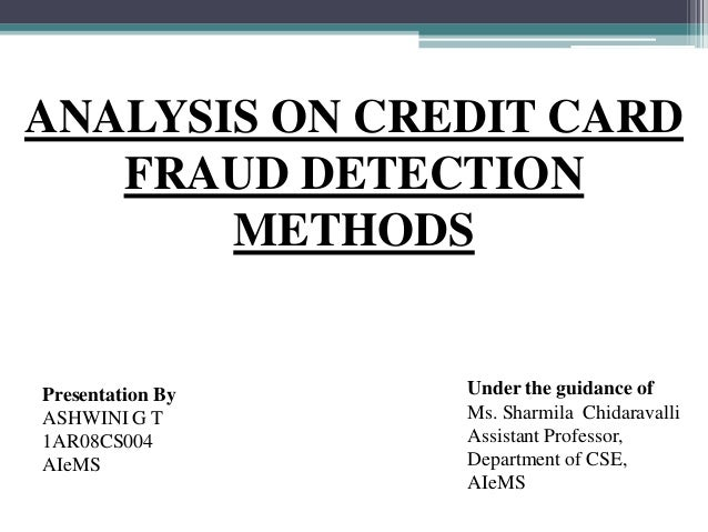 Analysis of-credit-card-fault-detection