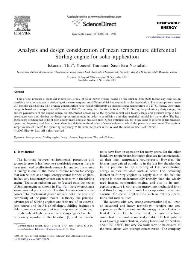 ARTICLE IN PRESS                                                     Renewable Energy 33 (2008) 1911–1921                 ...