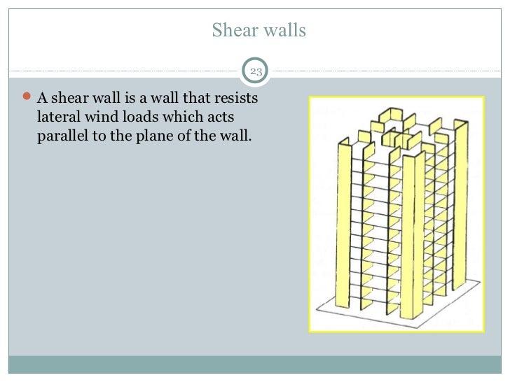 Reinforcement Of Columns 22; 23. Shear Walls ...