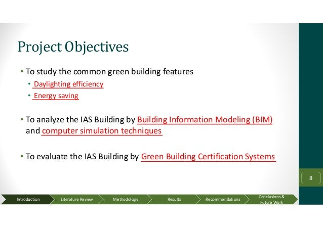 Analysis and evaluation of green building features using for Green building features checklist