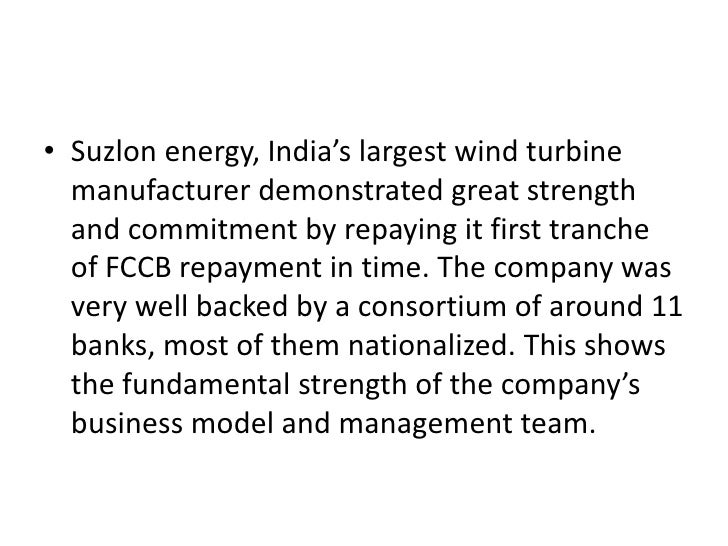 suzlon energy analysis Browse 4ps analysis of more brands and companies similar to suzlon energy marketing mix the marketing mix section covers 4ps and 7ps of more than 300 brands in 2 categories.