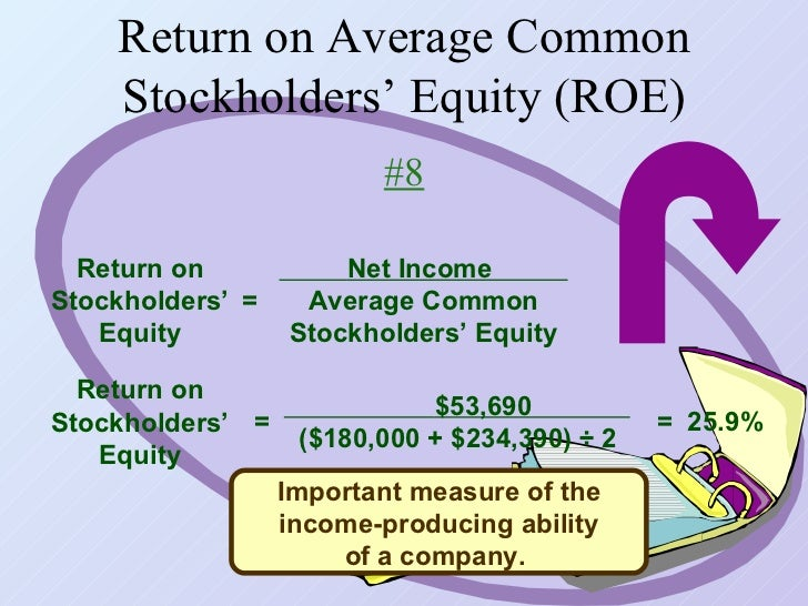how to find average common stockholders equity