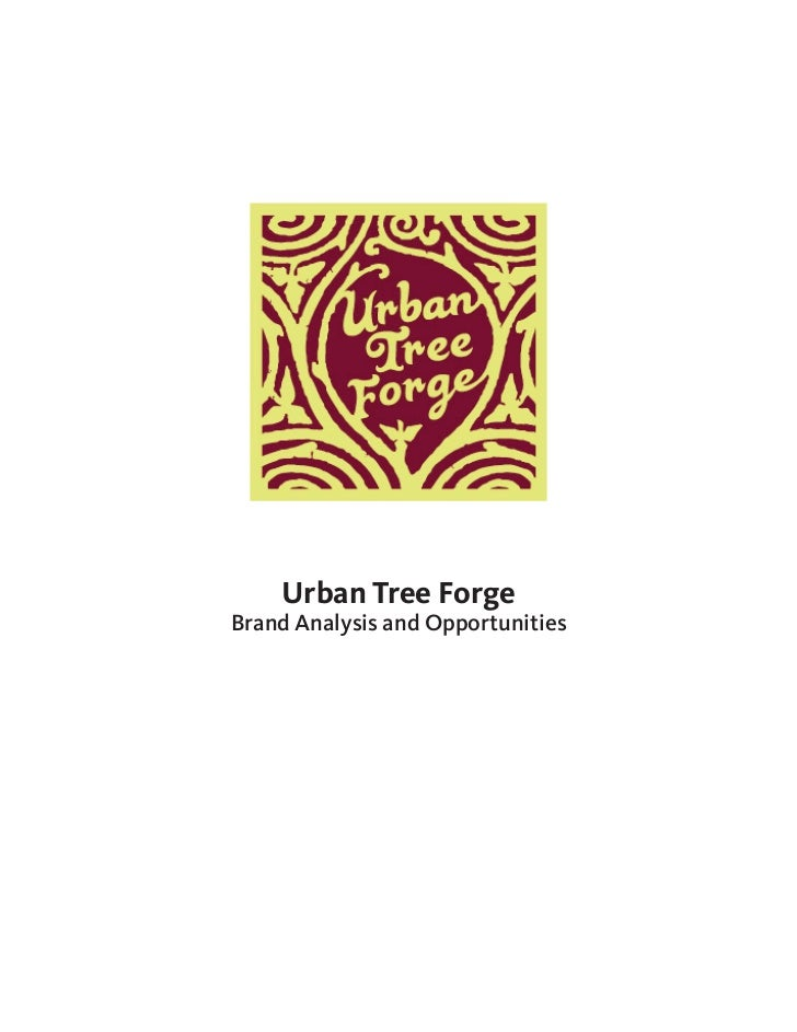 Urban Tree ForgeBrand Analysis and Opportunities