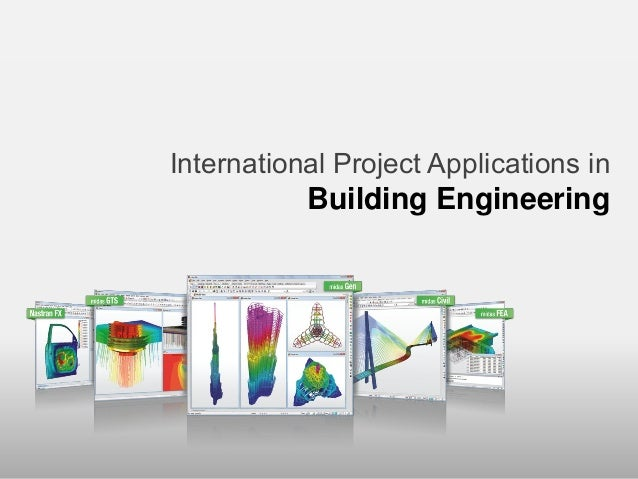 International Project Applications in                      Building Engineering                                           ...