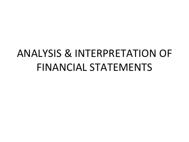 interpretation financial statements The interpretation of financial statements the classic edition all investors from beginners to old hands should gain from the use of this guide as i have from the.
