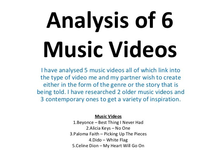 An analysis of the kind of music