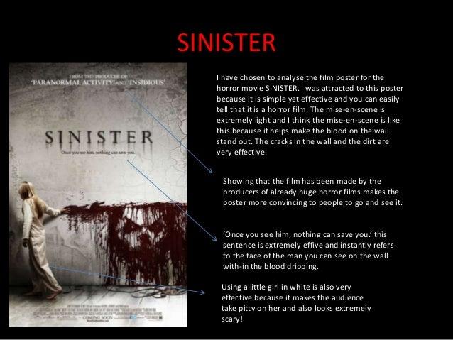 Analysis Of A Horror Film Poster Alana Mcewan
