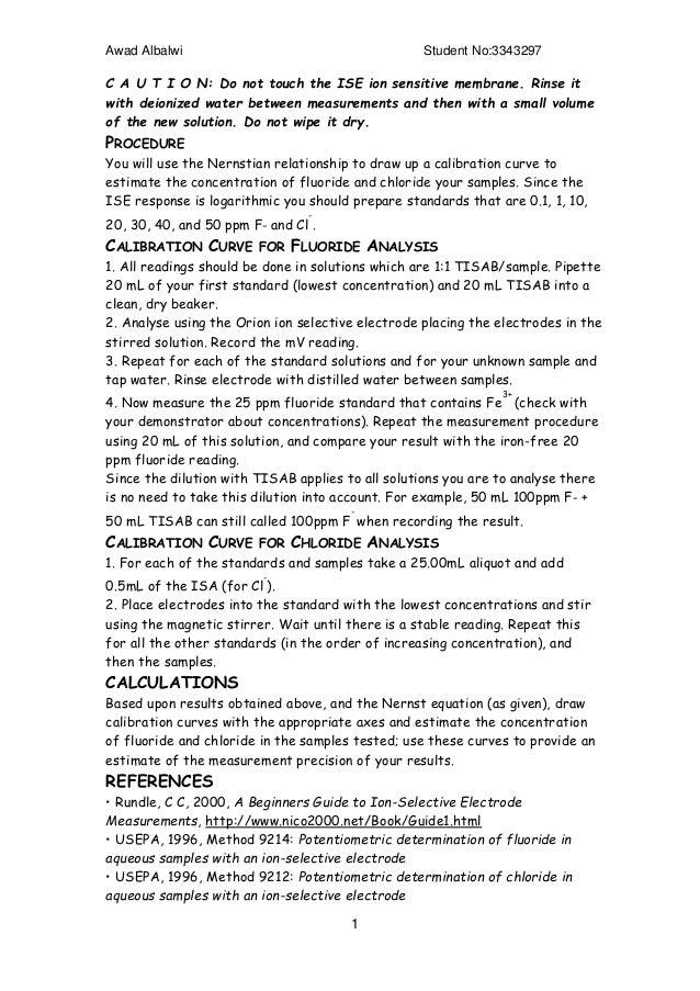 buffer solution lab report