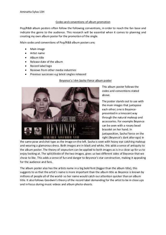 beyonce research paper
