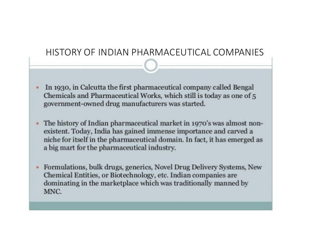 indian pharmaceutical sector analysis Swot analysis of pharmaceutical sector in india: strengths: 1 indian with a population of over a billion is a largely untapped market in fact the penetration of modern medicine is less than 30% in india.