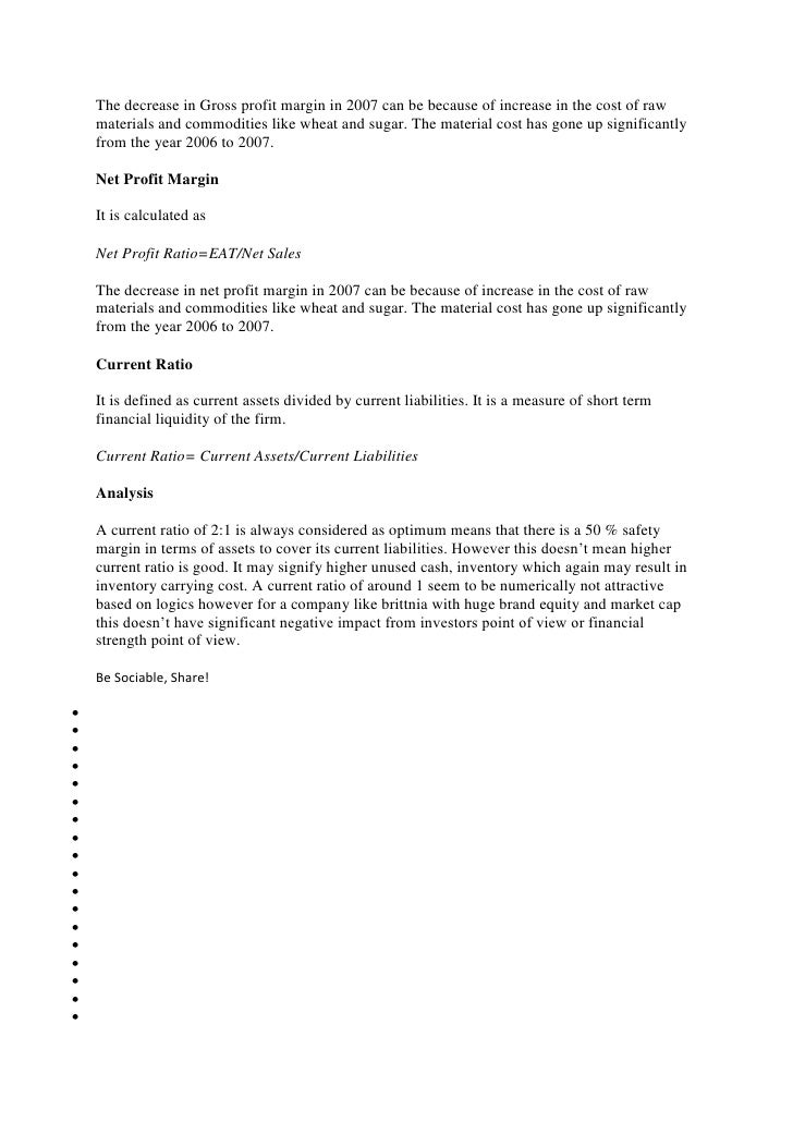 Lyric raw sugar lyrics : Analysis of britania industries limited
