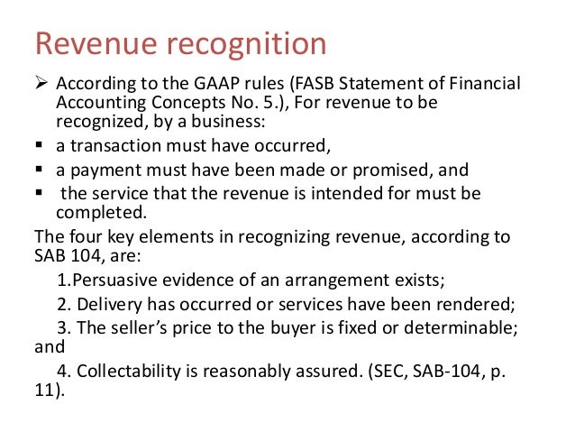 gaap cases While there have been few sec cases focused on non-gaap violations, mr  maloney pointed to the division's 2009 case against safenet inc.