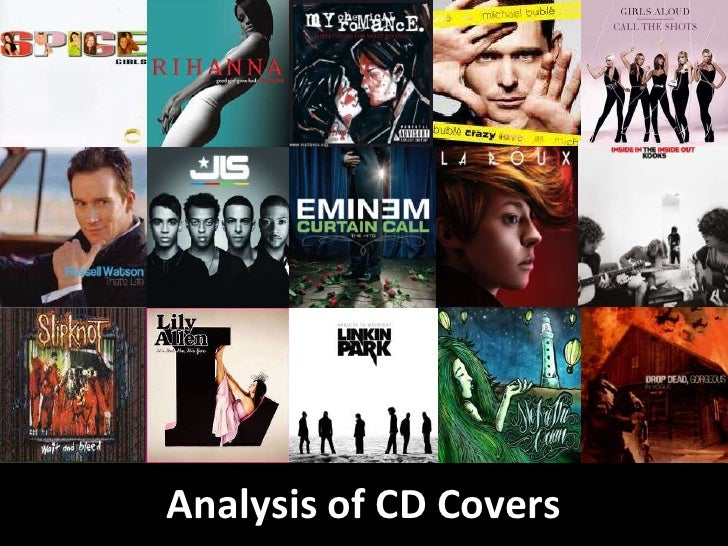 Analysis of CD Covers <br />