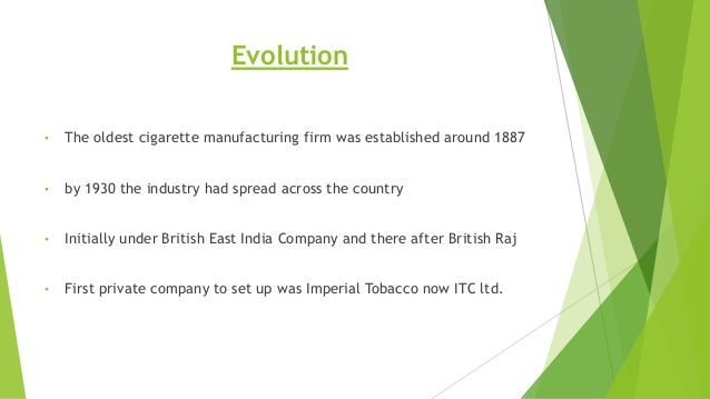 Analysis of ... Tobacco Industry In India