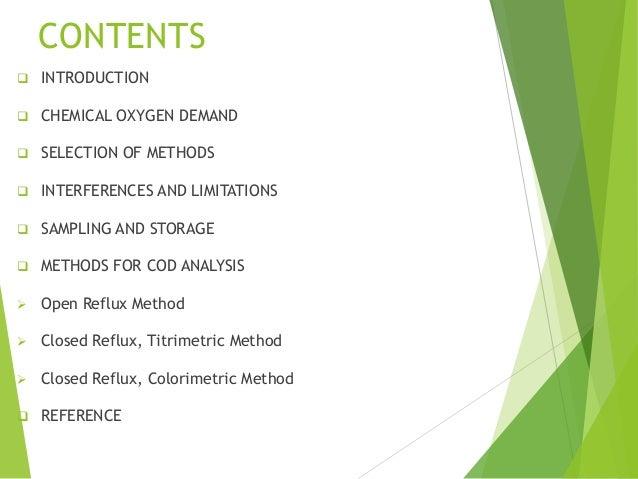Analysis of Oxygen-Bearing Organic Compounds