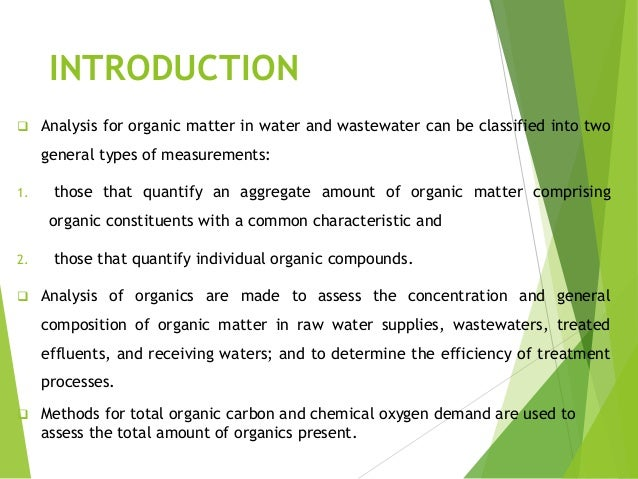 Chemical Oxygen Demand Analysis Using Apha Manual