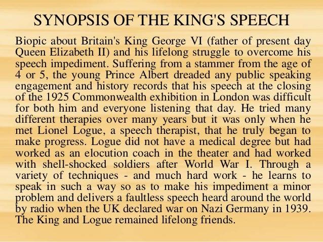 the kings speech analysis