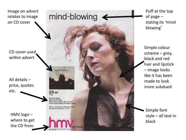 magazine ad analysis An analysis of an advertisement despite the placement of the ad in a strictly women's magazine, this ad is designed to be semiotic analysis of two ads.