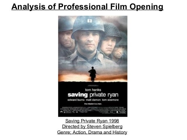 saving private ryan essays