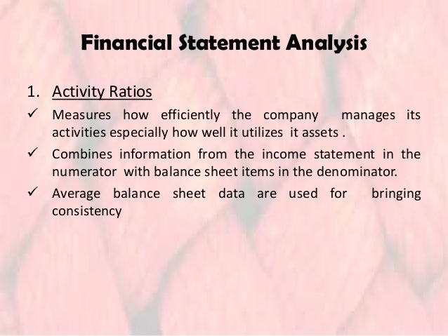 financial statement analysis and quality of Credit analysis is one step in the  we have a handy financial statement analysis template that will allow you to analyze the financial statements for any company.