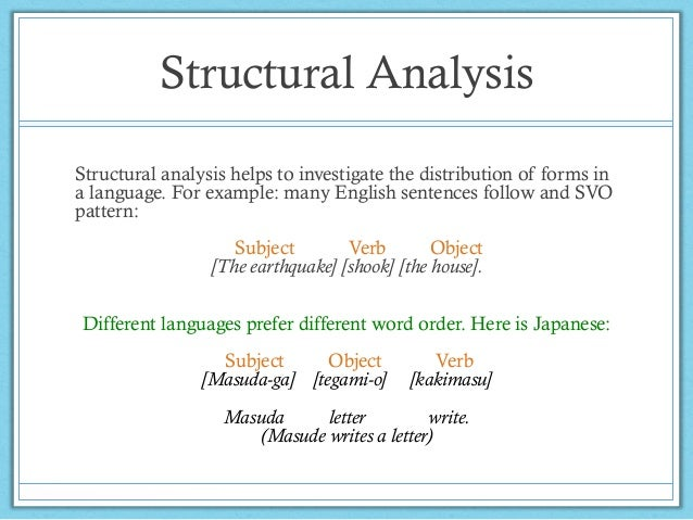 Analysis of grammatical structure structural analysis structural thecheapjerseys Images