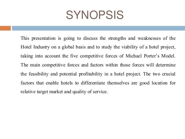 Analysis of hotel industry in porter's five competitive forces Slide 2