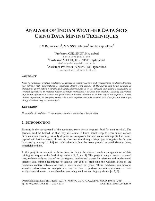 Dhinaharan Nagamalai et al. (Eds) : ACITY, WiMoN, CSIA, AIAA, DPPR, NECO, InWeS - 2014 pp. 89–94, 2014. © CS & IT-CSCP 201...