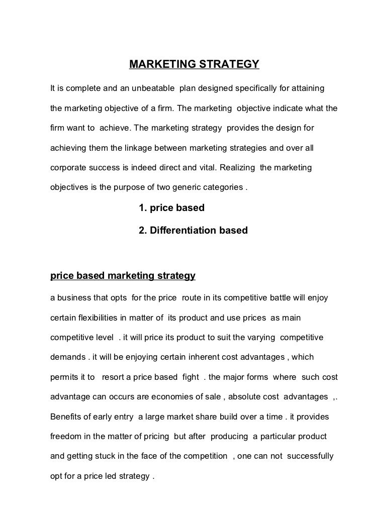 Sample business plan water bottling plant