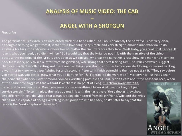 an analysis of angel Essay on analysis and interpretation of no angel 1123 words | 5 pages has their own way of dealing with the loss of a loved one in the short story no angel from 2010, bernie mcgill processes this theme.