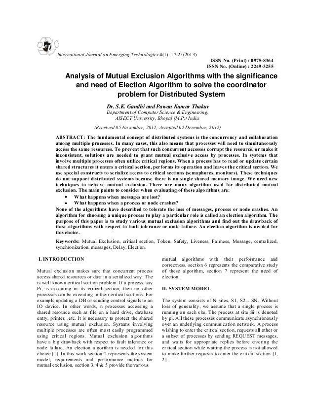 et  International Journal on Emerging Technologies 4(1): 17-25(2013) ISSN No. (Print) : 0975-8364 ISSN No. (Online) : 2249...