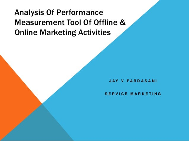 Analysis of performance measurement tool of offline &
