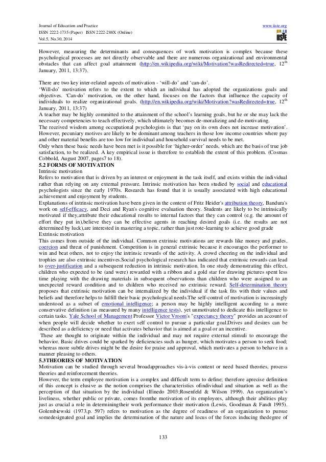 Goal attainment theory essay
