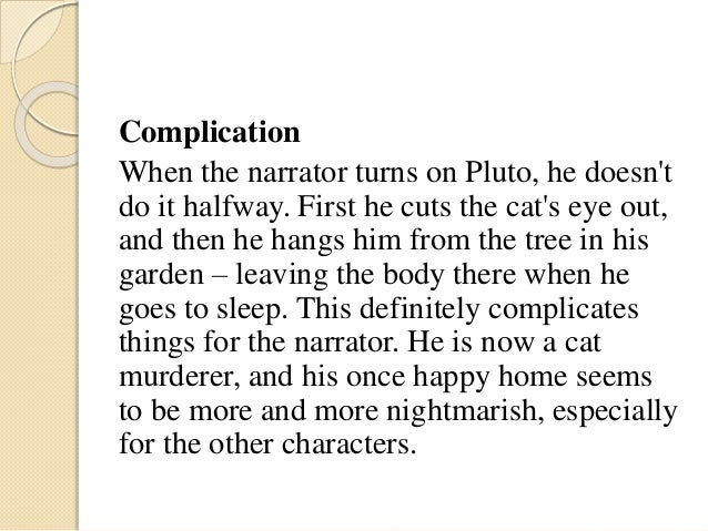 the black cat analysis Med denne vejledning får du overblik over novellen the black cat af edgar allan poe vi hjælper dig med at få styr på de væsentligste analytiske elementer: .