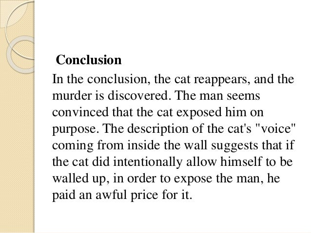 analysis of the black cat Take the quiz: the black cat by edgar allan poe all about the short story by ea poe.
