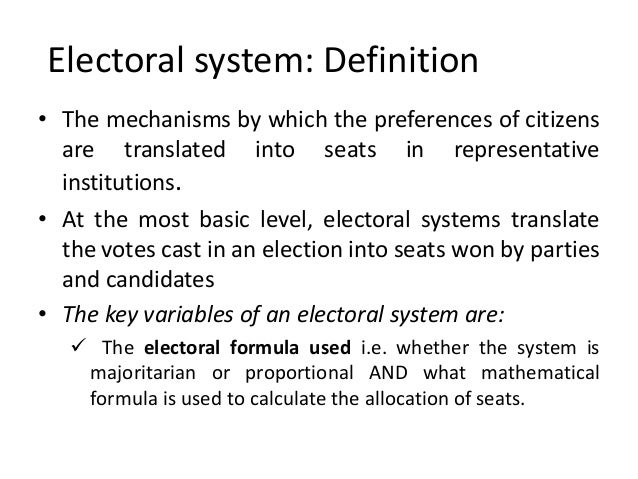 an explication of the electoral college system Free electoral college system papers, essays, and research papers.