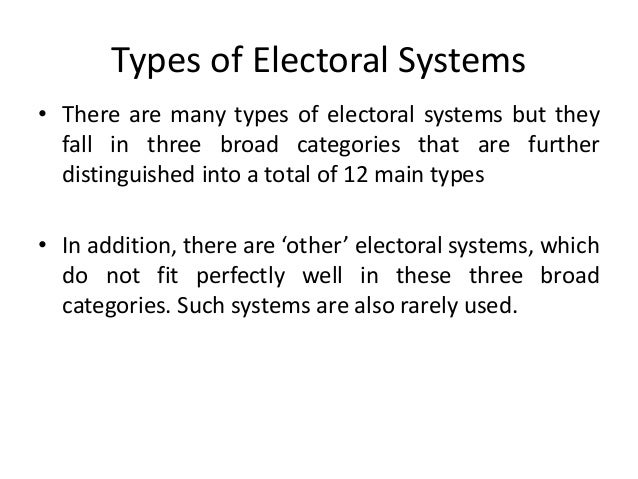 Analysis of the malaysian electoral system