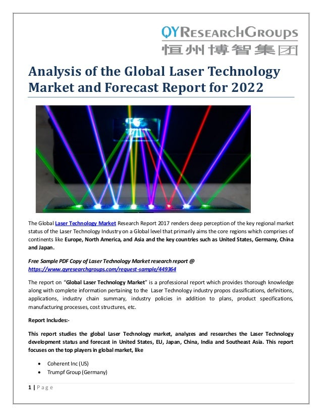 Laser diffraction analysis