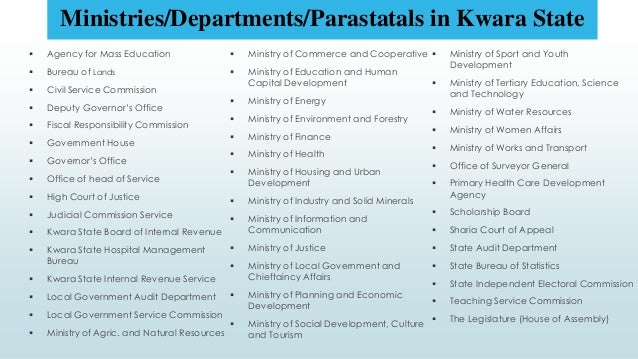 Louisiana Department Of State Civil Service : Analysis of the kwara state budget